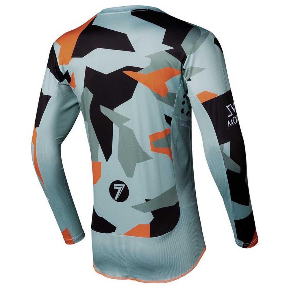 Completo cross Seven Rival Trooper 2 PASTE CAMO 2020 pantaloni+maglia 5