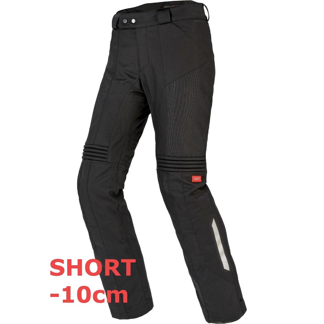 Pantaloni moto ventilati Spidi NETRUNNER SHORT PANTS Nero 1