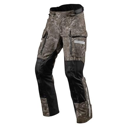 Pantaloni moto Rev'it SAND 4 H2O Mimetico Marrone 1