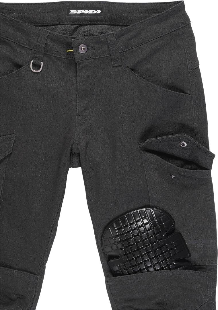 Jeans da moto con protezioni Spidi PATHFINDER CARGO Antracite 3