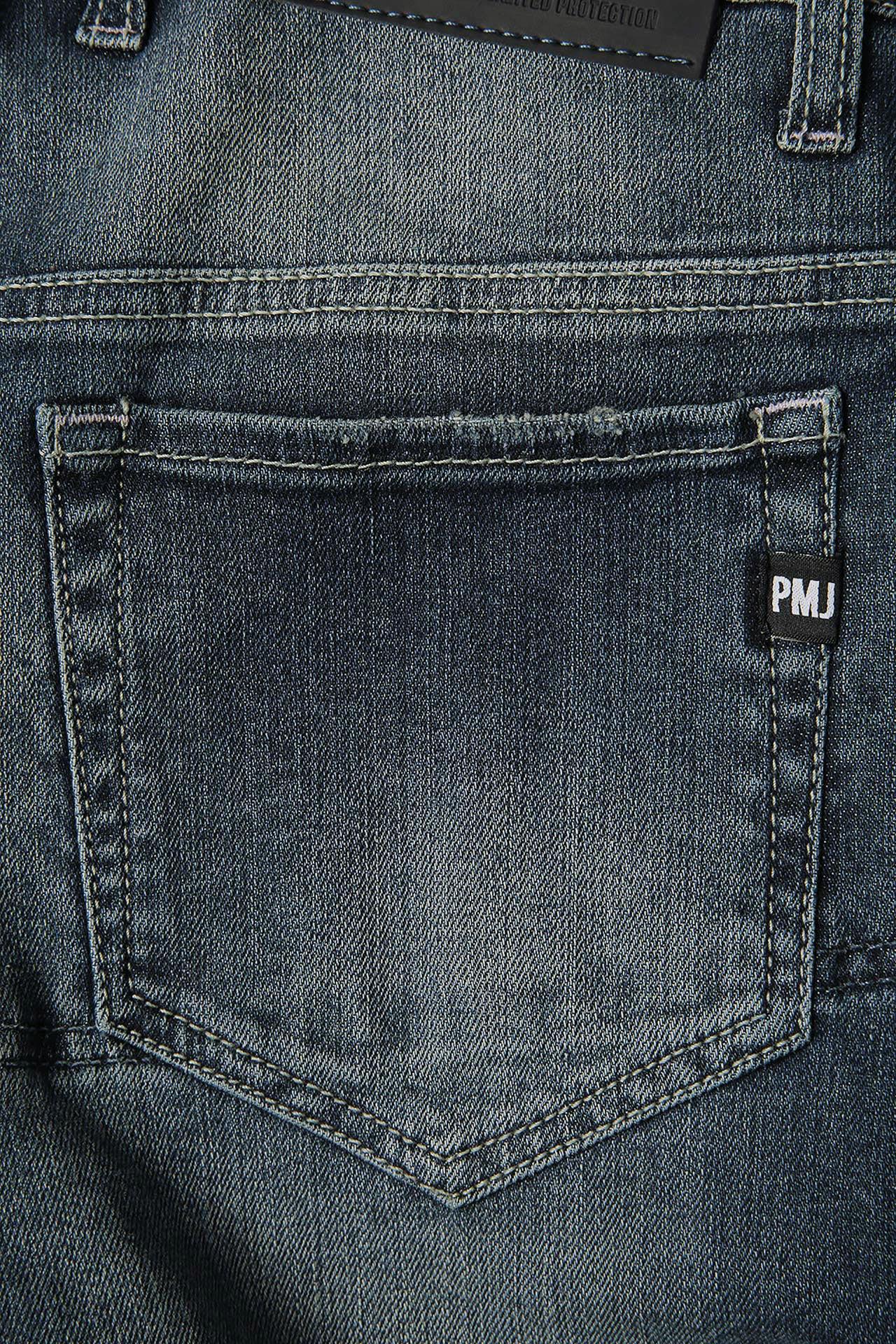 Jeans da moto donna con protezioni e Twaron® PMJ FLORIDA medio 4