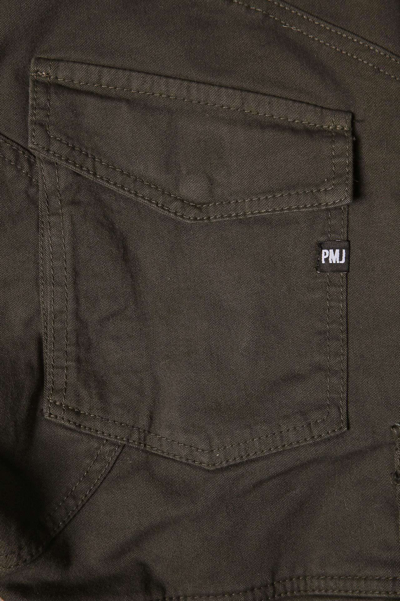 Pantaloni da moto con protezioni e Twaron® PMJ SANTIAGO moro 3