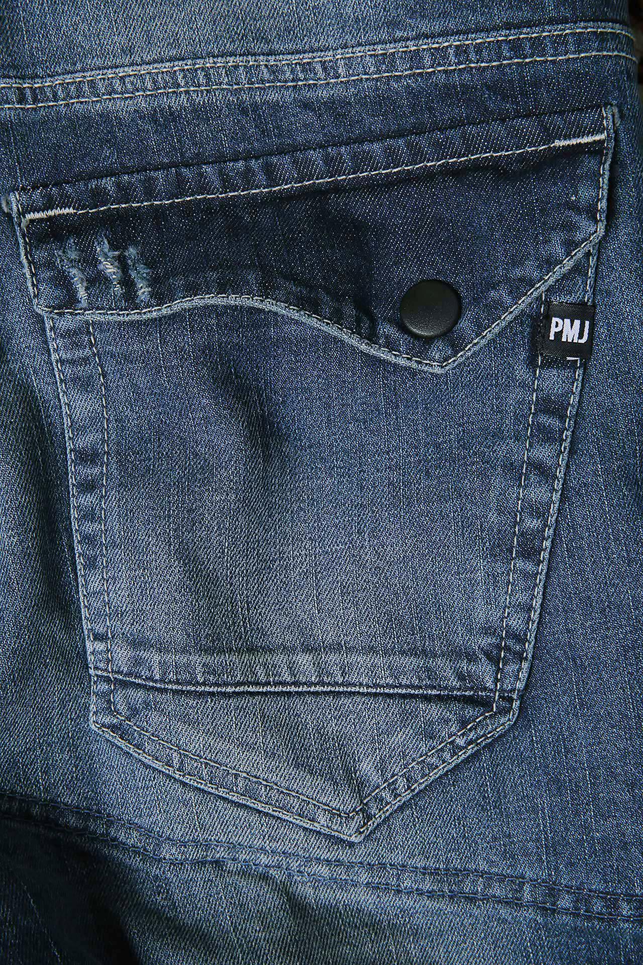 Jeans da moto con protezioni e Twaron® PMJ VEGAS medio 3