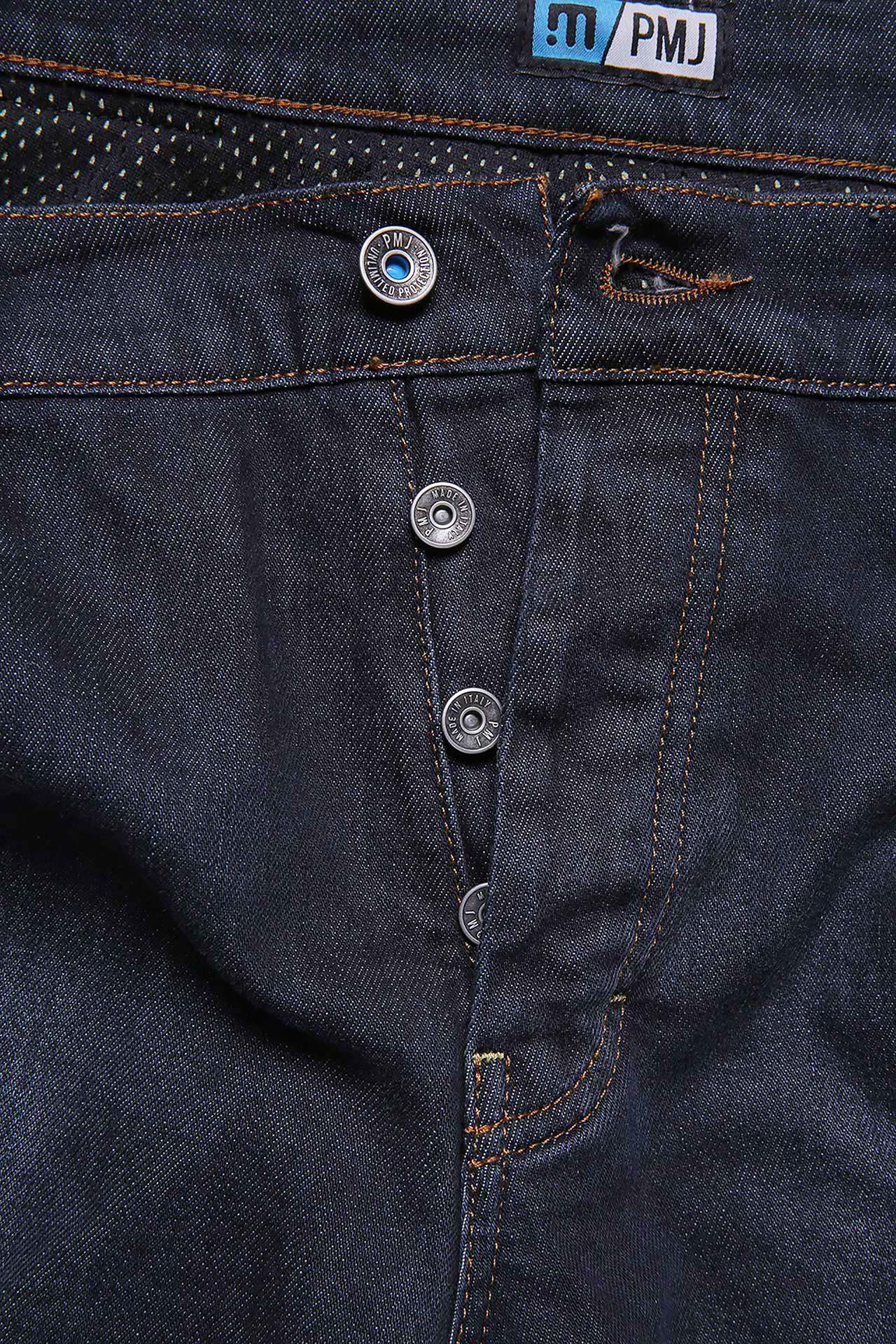 Jeans da moto con protezioni e Twaron® PMJ VOYAGER SHORT Blu 4