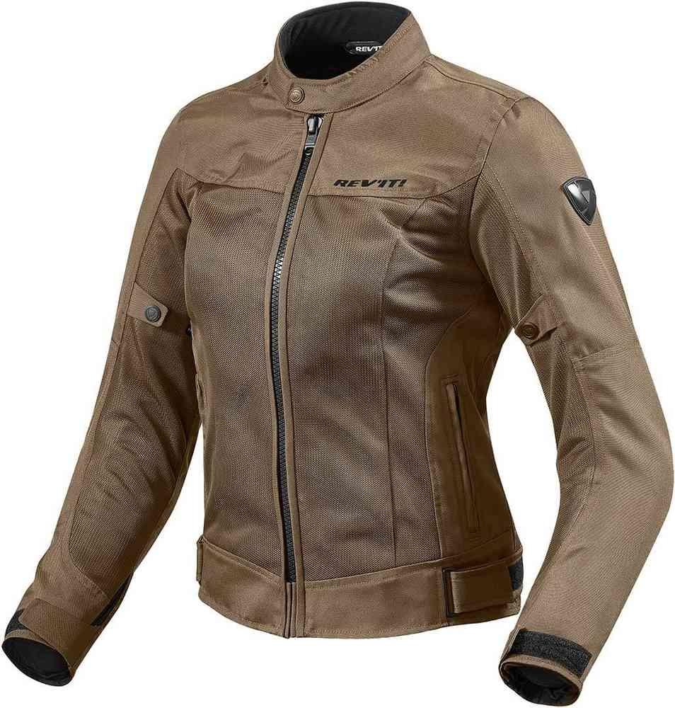 Giubbino moto donna ventilato Rev'it ECLIPSE LADIES Marrone 1