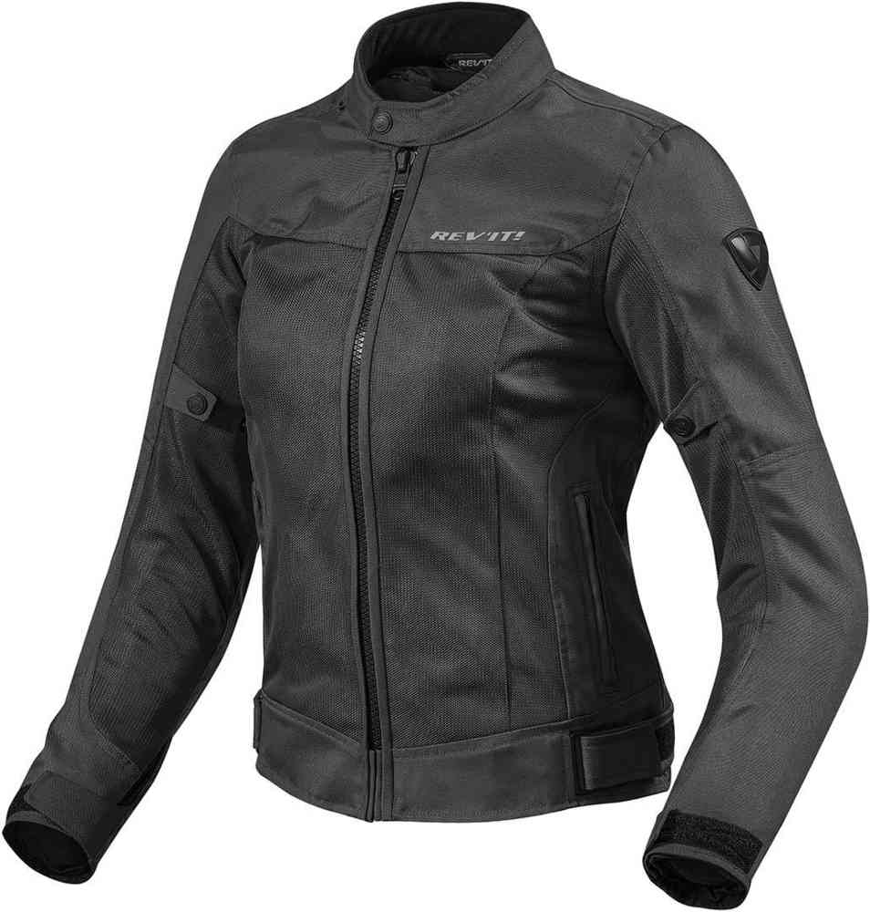 Giubbino moto donna ventilato Rev'it ECLIPSE LADIES Nero 1