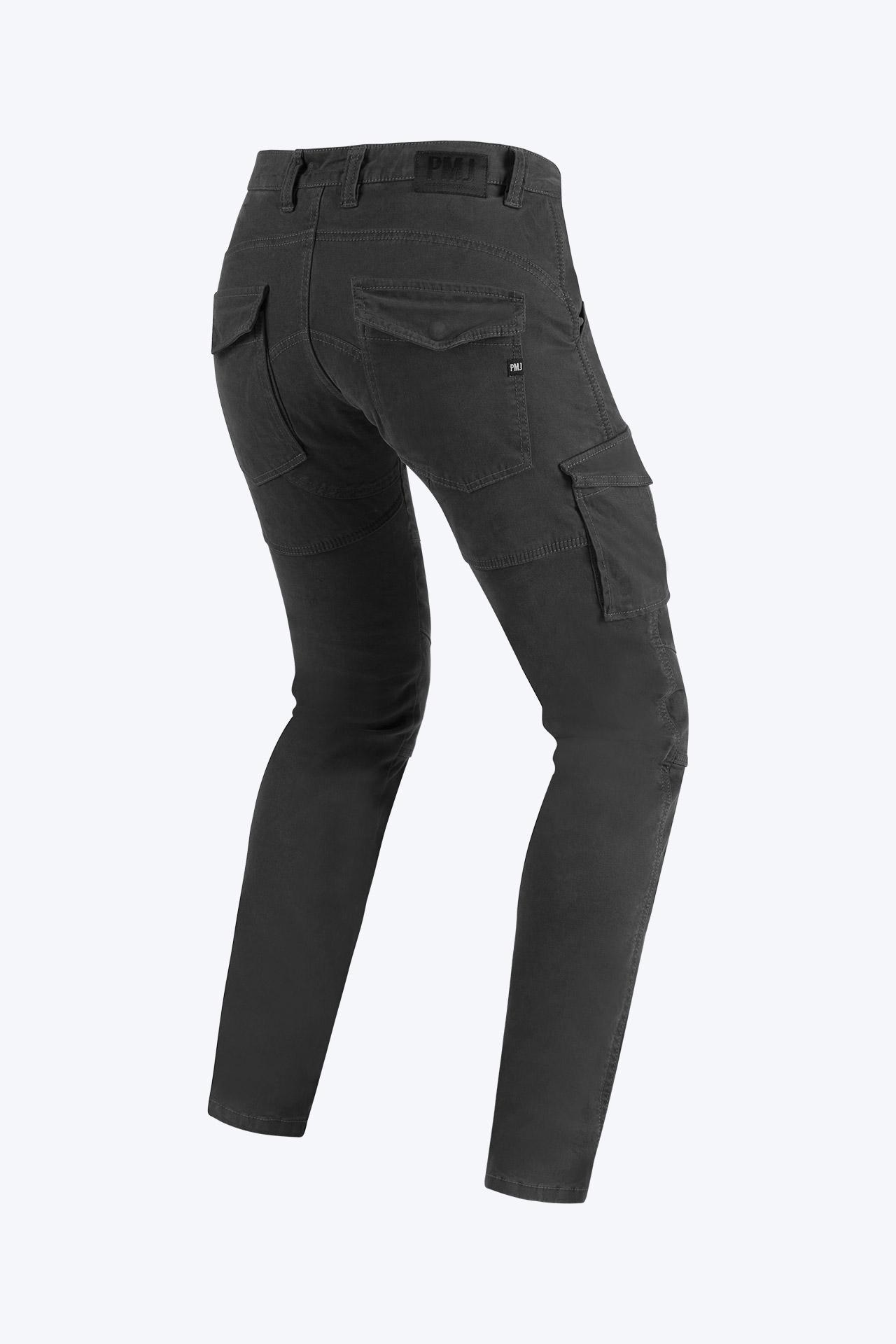 Pantaloni da moto con protezioni e Twaron® PMJ SANTIAGO grey 2