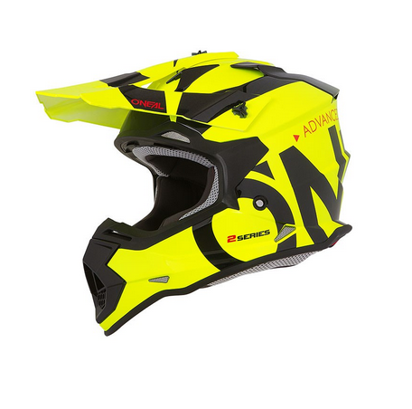 Casco cross bambino Serie 2 O'Neal SLICK yellow fluo black 3
