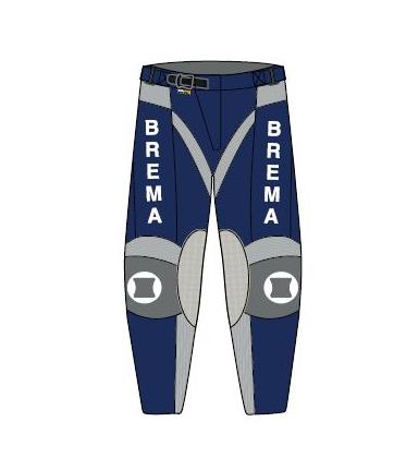 Pantaloni moto Brema TROFEO UNI Navy 1