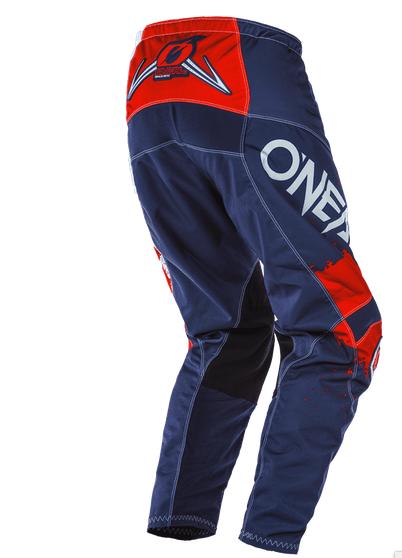 Completo cross O'Neal ELEMENT IMPACT 2020 Blue red maglia+pantaloni 2