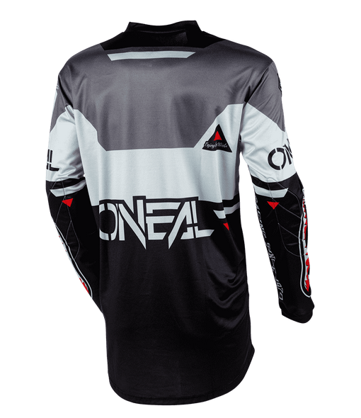 Completo cross O'Neal ELEMENT WARHAWK black gray 2020 maglia+pantaloni 3