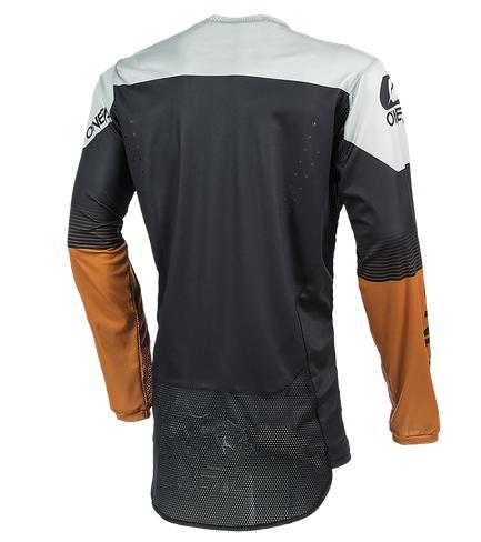 Completo cross O'Neal HARDWEAR SURGE 2021 black brown maglia+pantaloni 2