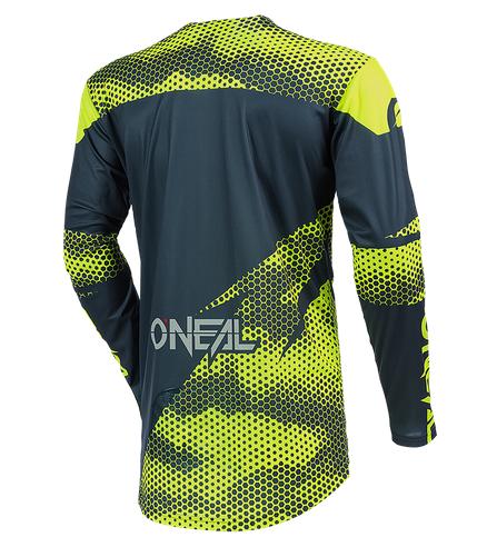 Completo cross O'Neal MAYHEM COVERT 2021 charcoal neon yellow maglia+pantaloni 2
