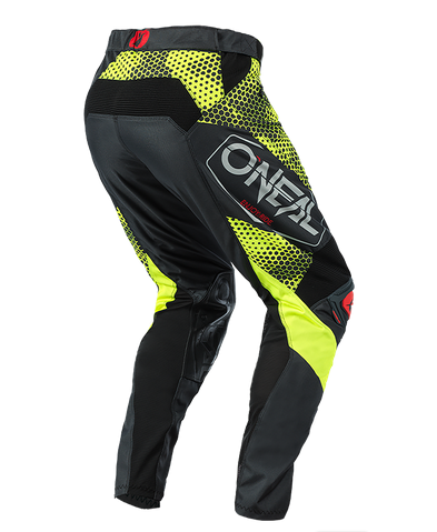 Completo cross O'Neal MAYHEM COVERT 2021 charcoal neon yellow maglia+pantaloni 3