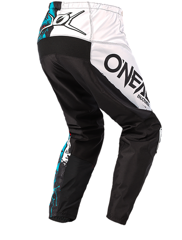Completo cross O'Neal ELEMENT RIDE 2021 black blue maglia+pantaloni 3