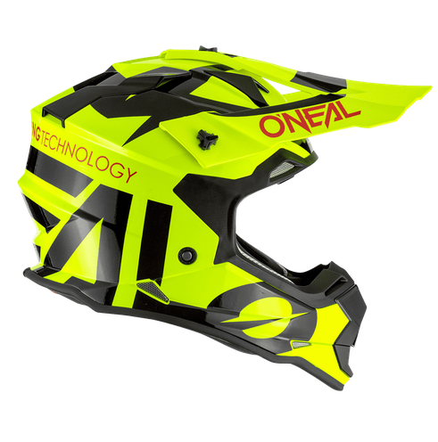 Casco cross bambino Serie 2 O'Neal SLICK yellow fluo black 2