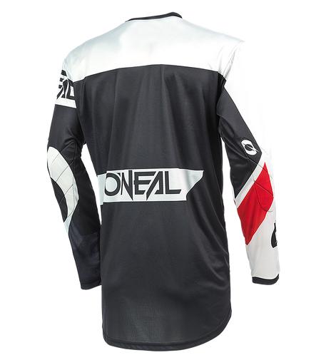 Completo cross O'Neal ELEMENT RACEWEAR 2021 nero bianco maglia+pantaloni 3