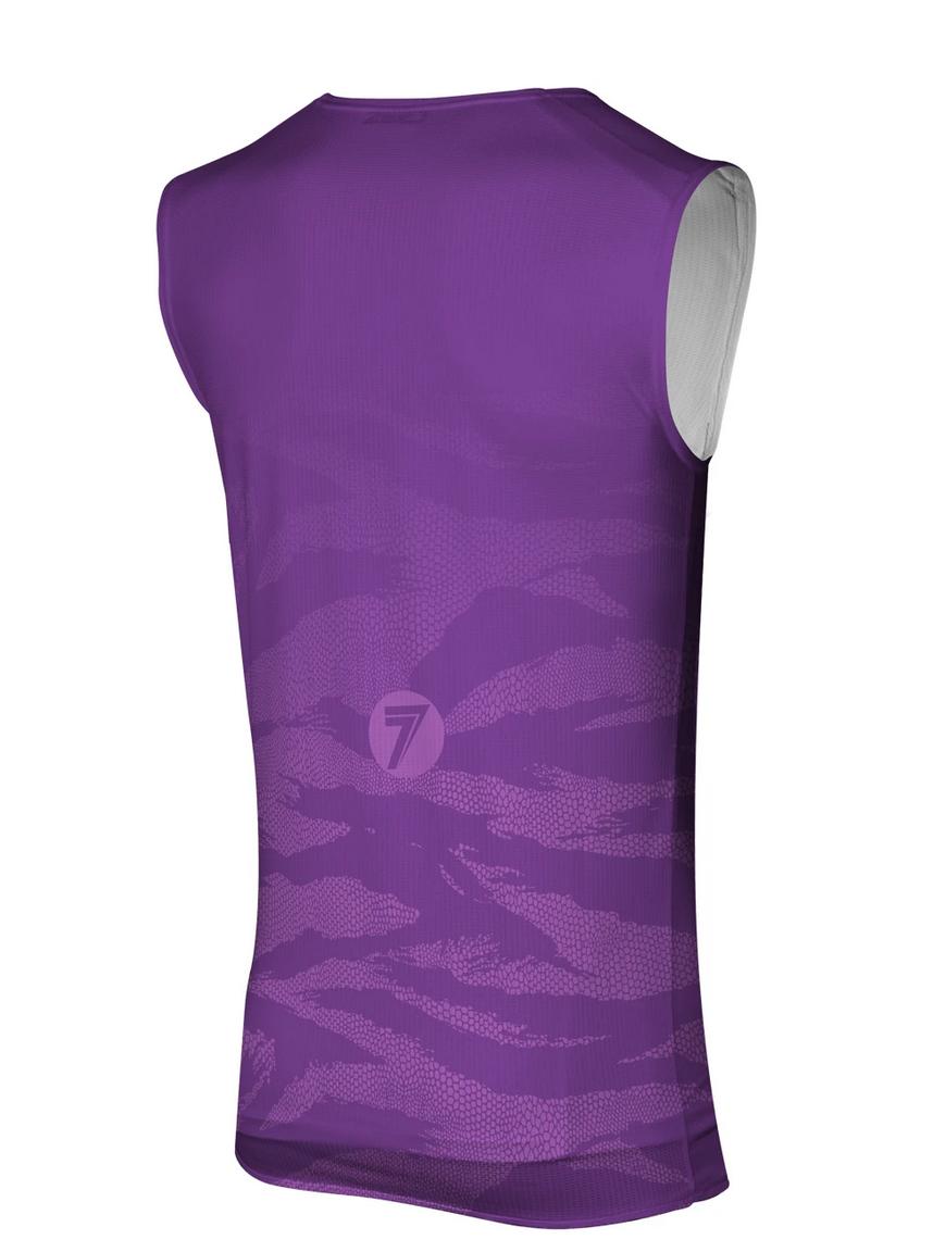 Canotta cross Seven ZERO SAVAGE Purple 2