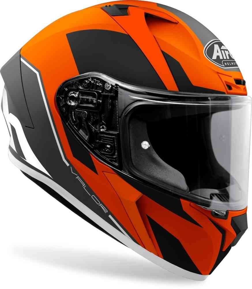 Casco integrale Airoh VALOR WINGS Orange Matt 2