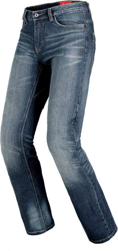 Jeans da moto Spidi con protezioni J TRACKER norm short long Blue Dark Used 5