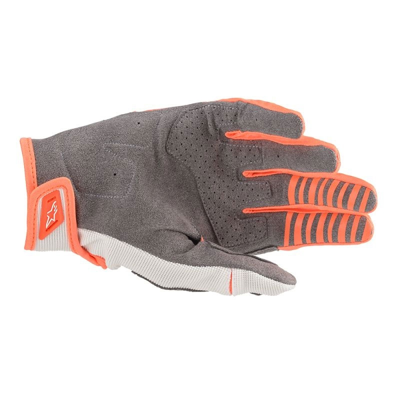 Guanti cross enduro Alpinestars Techstar 2020 Orange Fluo 2