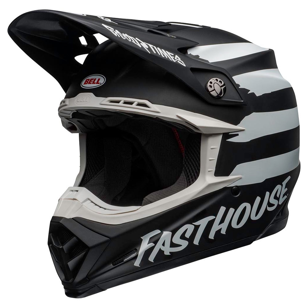 Casco Cross Bell Moto 9 Mips Fasthouse Signia Matt 1