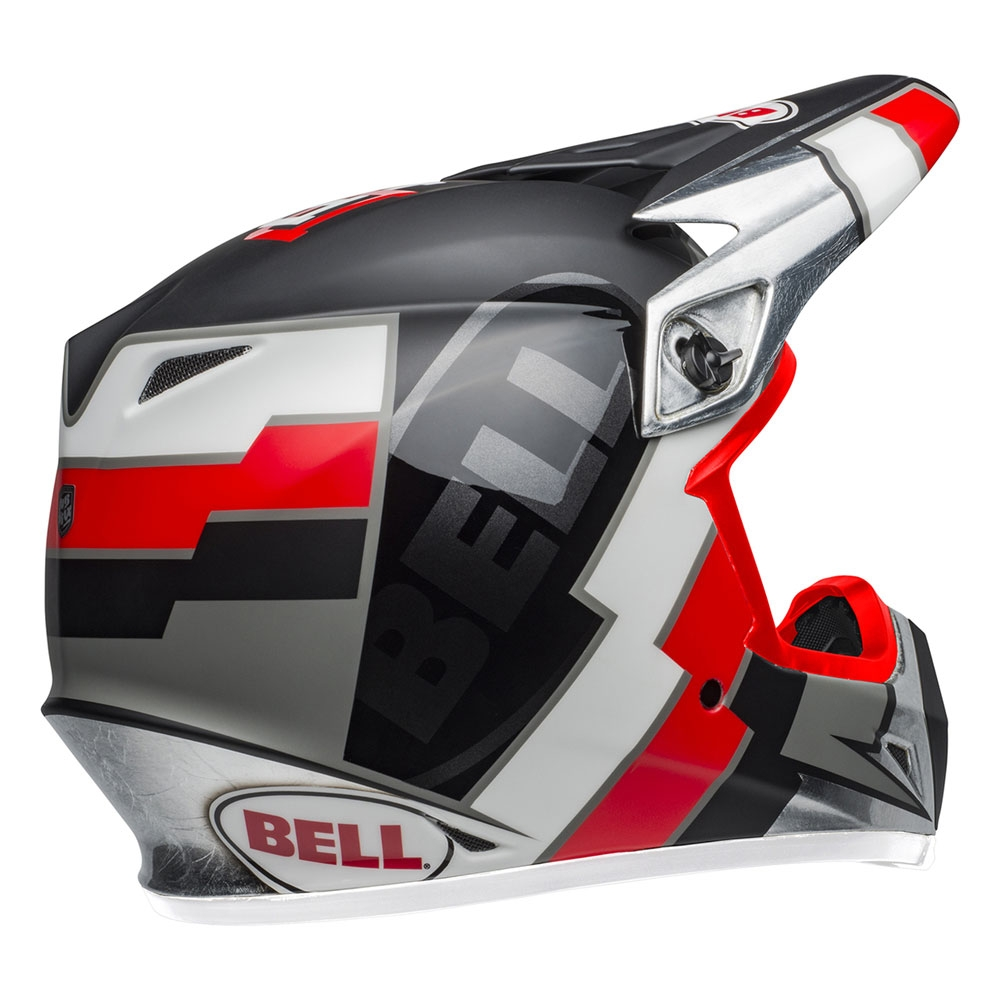Casco Cross Bell Mx-9 mips Replica Twitch 2