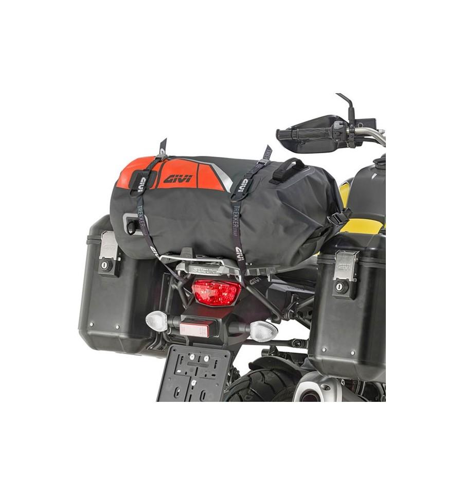 Borsa da sella a rullo waterproof Givi EA114BR nero rosso 2