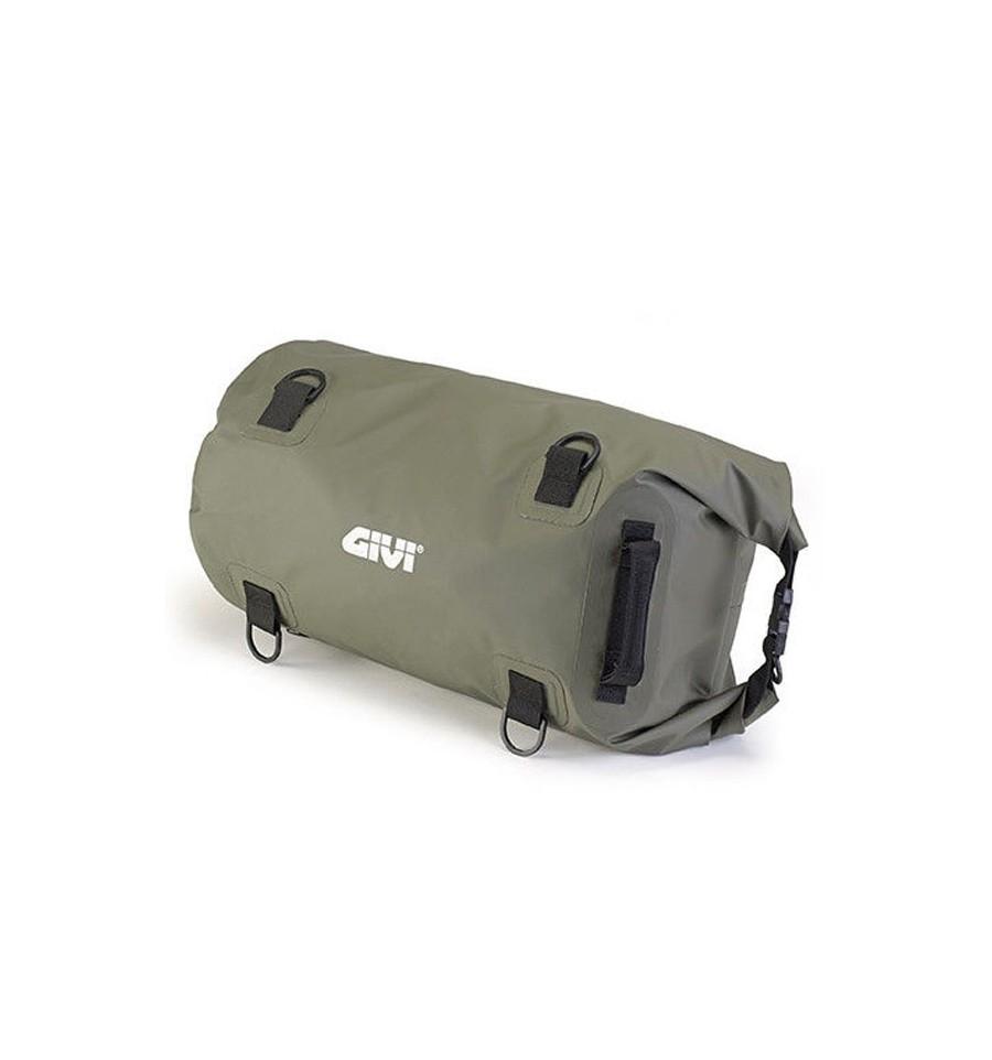 Borsa da sella a rullo waterproof Givi EA114KG verde militare 3