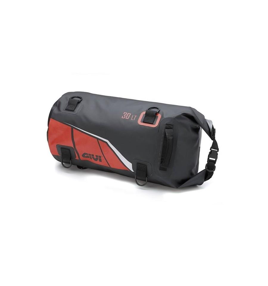 Borsa da sella a rullo waterproof Givi EA114BR nero rosso 1