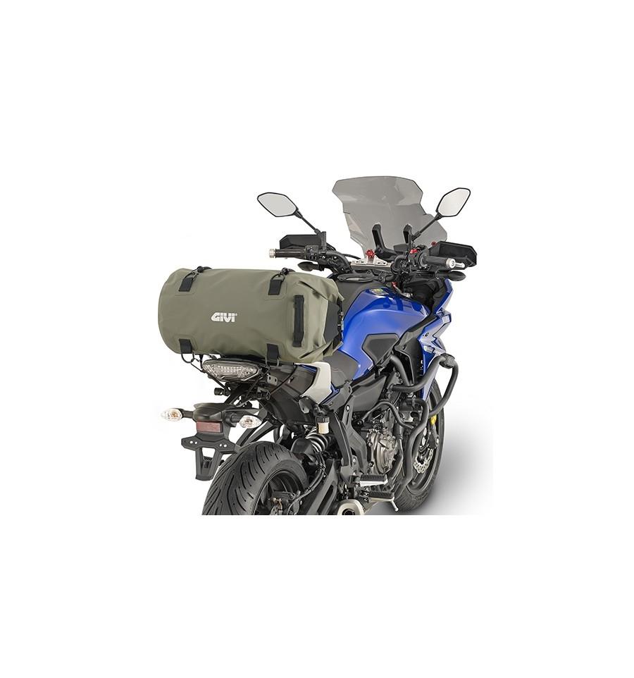 Borsa da sella a rullo waterproof Givi EA114KG verde militare 1