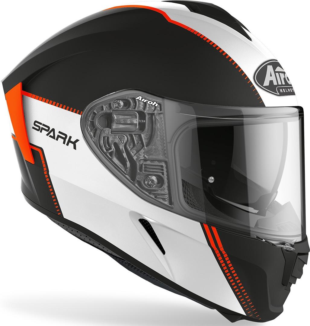 Casco integrale Airoh SPARK FLOW Orange Matt 2