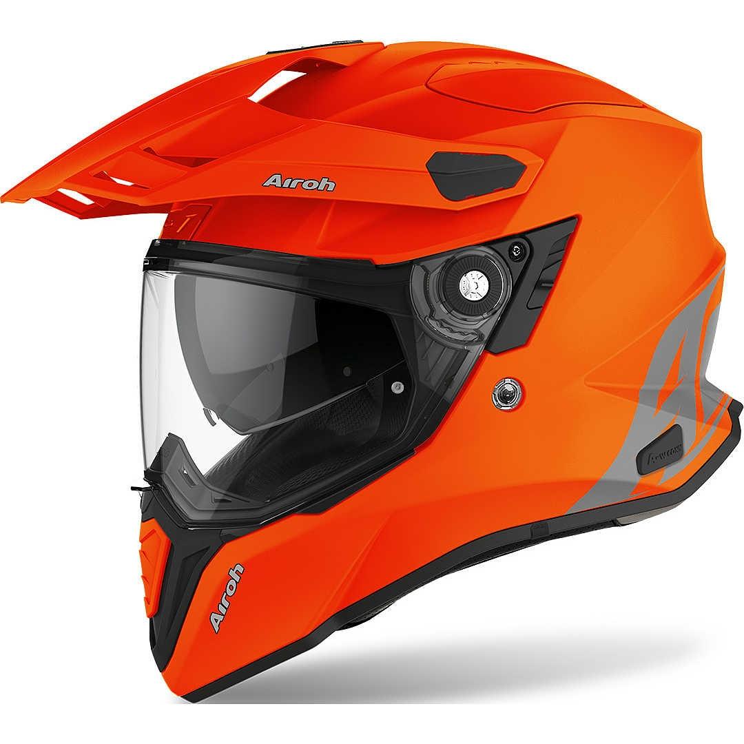 Casco integrale dual road Airoh COMMANDER COLOR Orange Fluo Matt 1