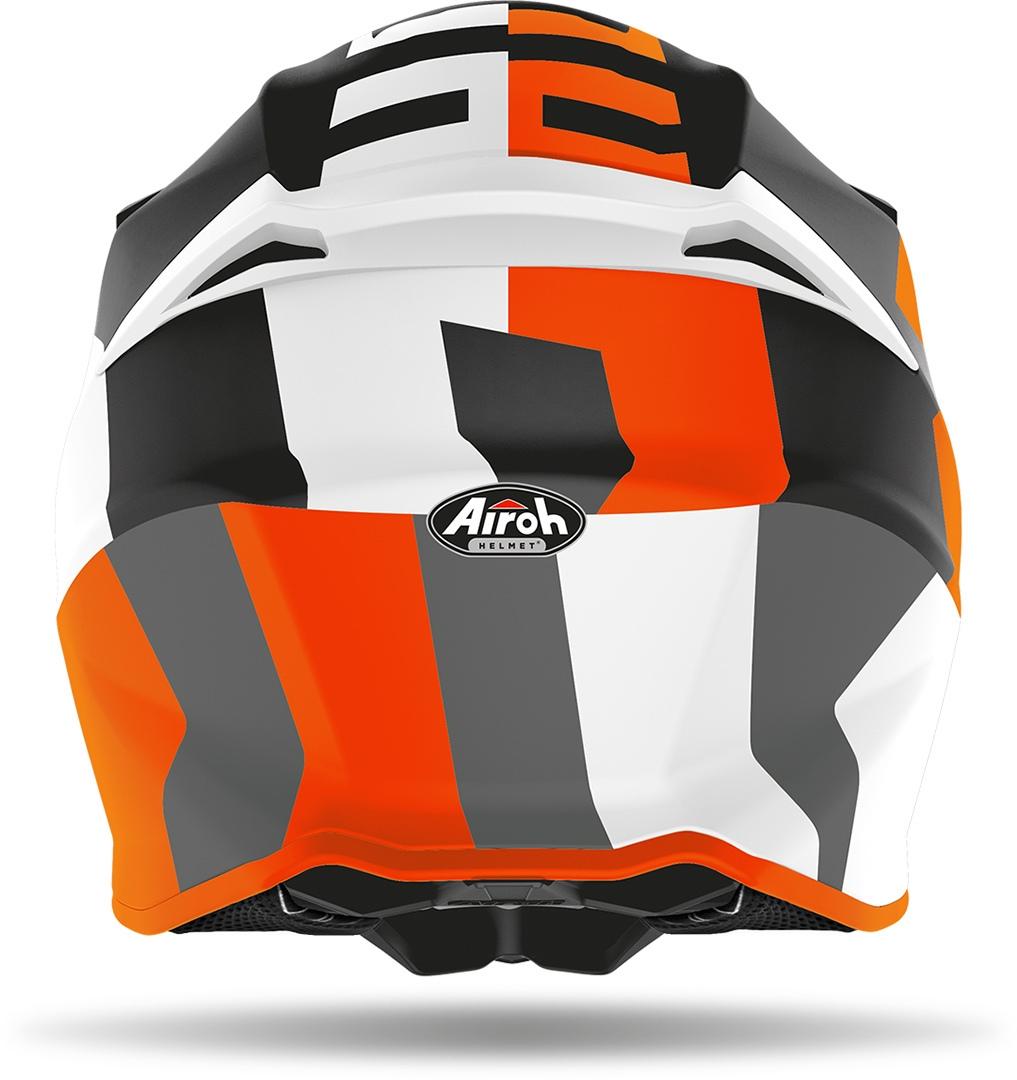 Casco Airoh cross enduro TWIST 2.0 FRAME Orange Matt 3