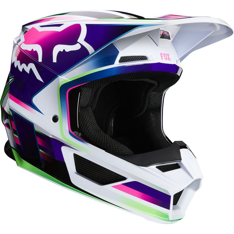 Casco cross donna Fox V1 GAMA MULTI 1