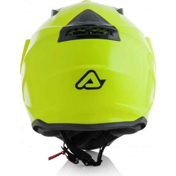 Casco dual road Acerbis REACTIVE giallo fluo 2