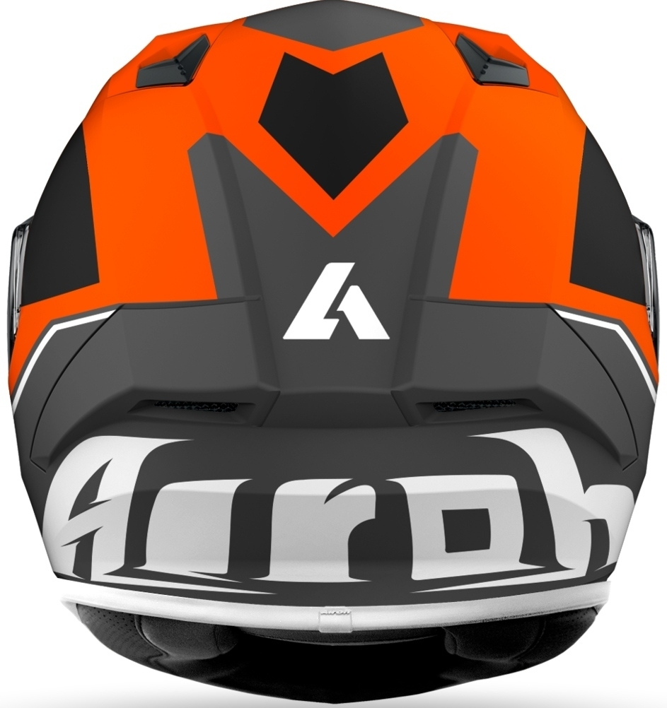 Casco integrale Airoh VALOR WINGS Orange Matt 3