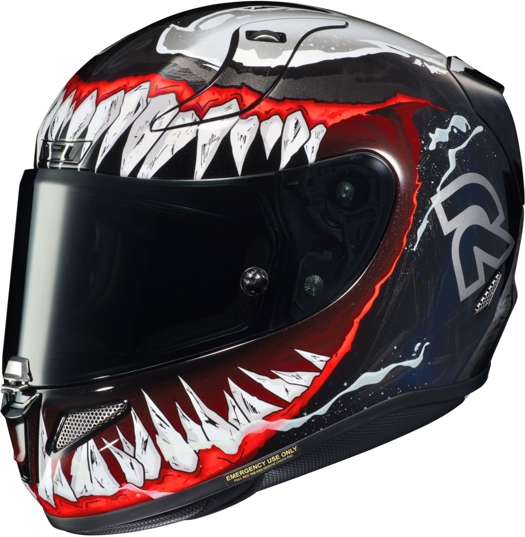 Casco integrale HJC RPHA11 VENOM Marvel MC1 1