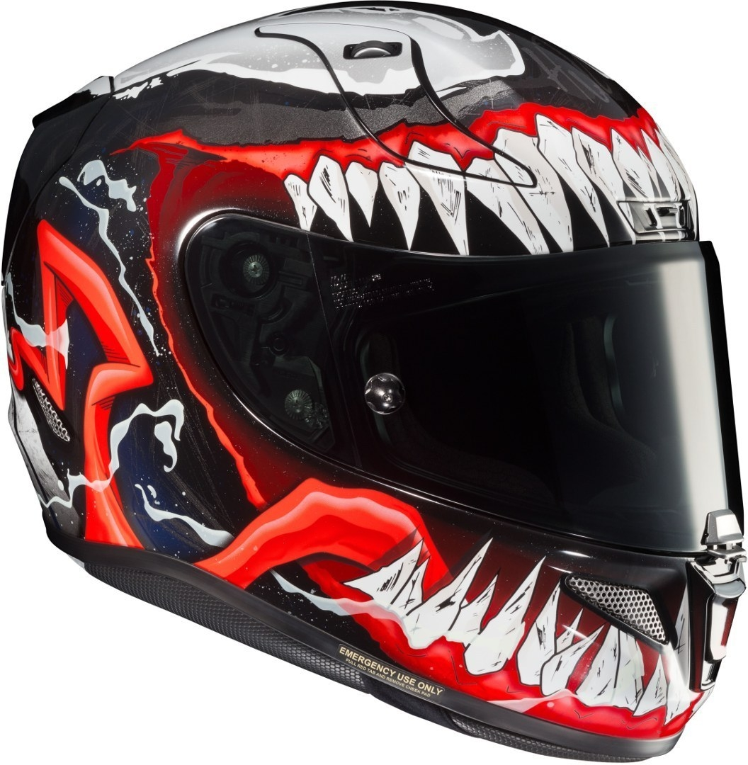 Casco integrale HJC RPHA11 VENOM Marvel MC1 2