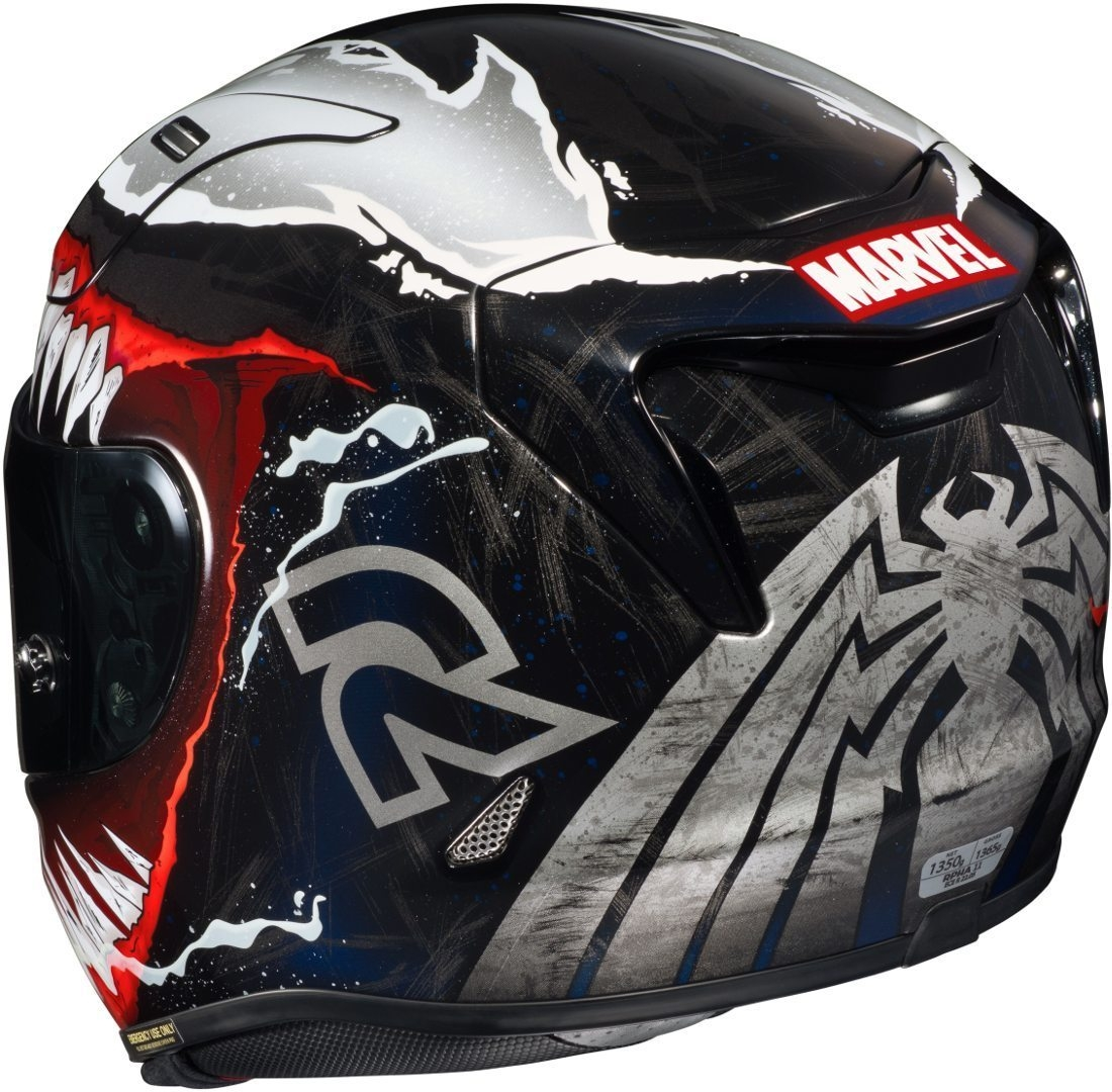 Casco integrale HJC RPHA11 VENOM Marvel MC1 3