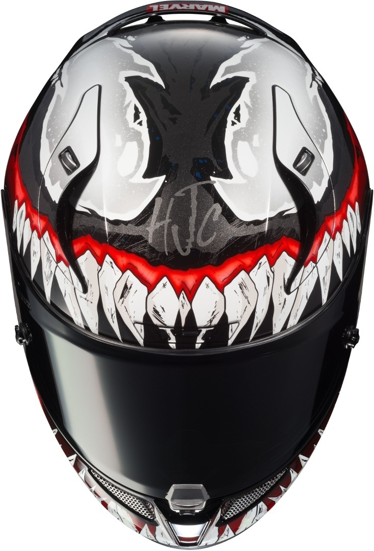Casco integrale HJC RPHA11 VENOM Marvel MC1 4