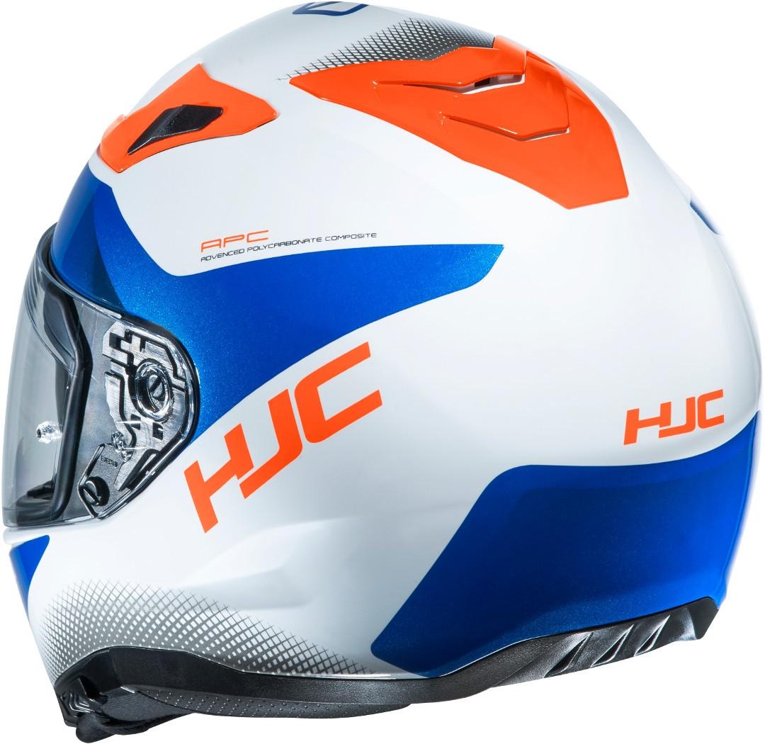 Casco integrale HJC i70 TAS MC26H Bianco Blu Rosso 2