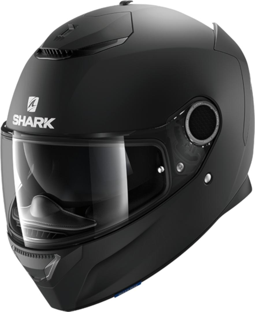 Casco integrale Shark SPARTAN 1.2 Blank Mat Nero opaco 1