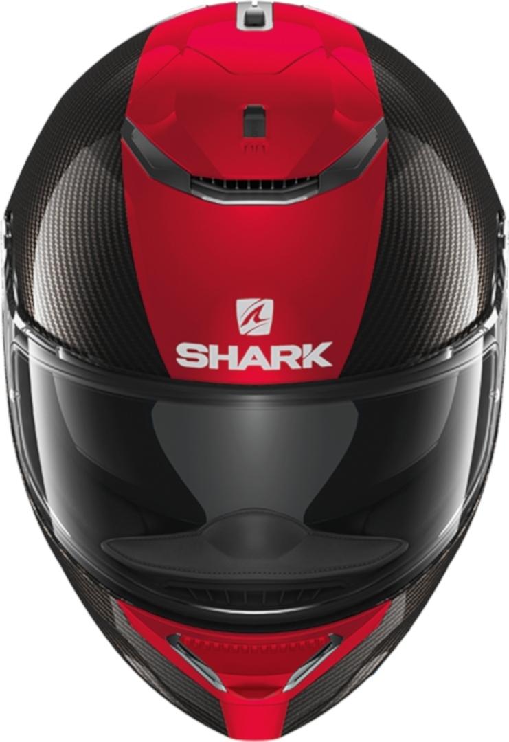 Casco integrale Shark SPARTAN CARBON SKIN 1.2 Nero Rosso 3
