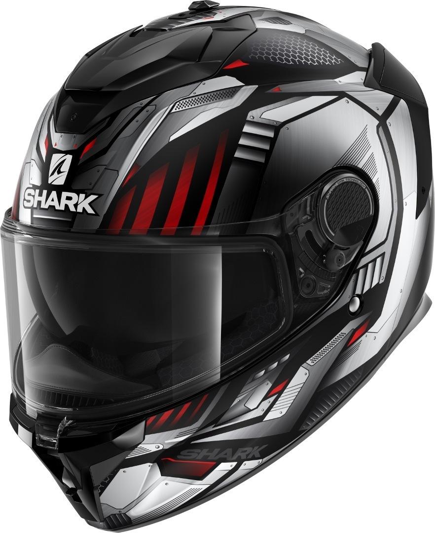 Casco integrale Shark SPARTAN GT REPLIKAN Nero Rosso 1