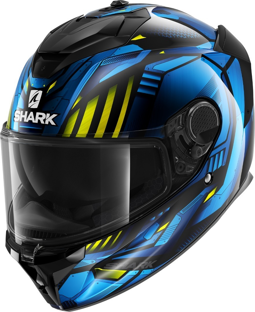 Casco integrale Shark SPARTAN GT REPLIKAN Nero Blu 1
