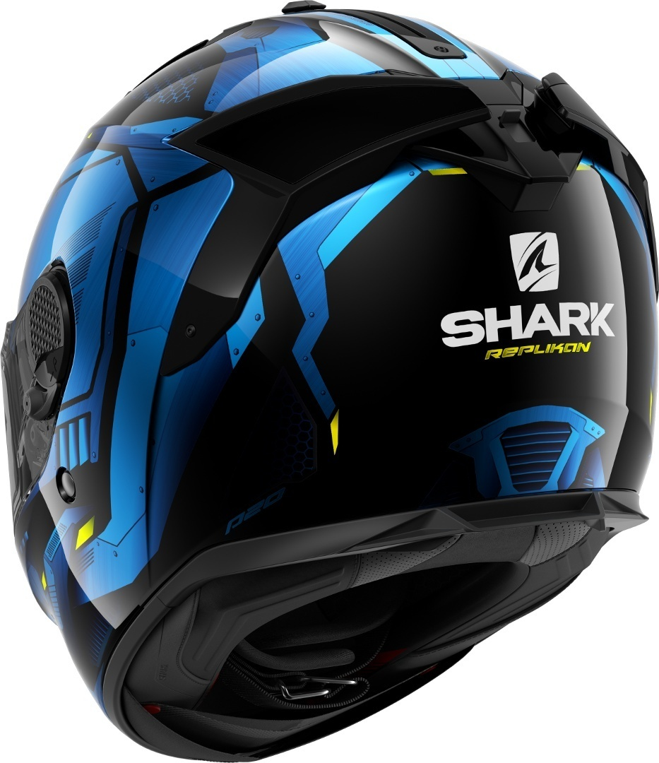 Casco integrale Shark SPARTAN GT REPLIKAN Nero Blu 2
