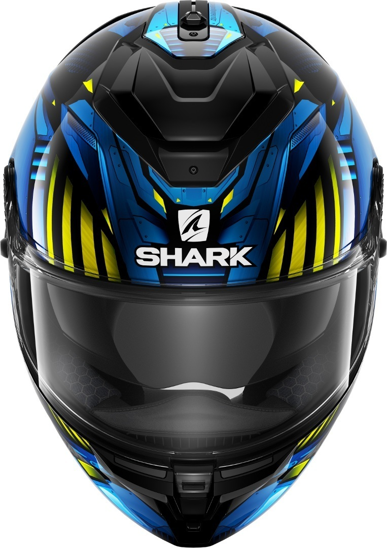 Casco integrale Shark SPARTAN GT REPLIKAN Nero Blu 3