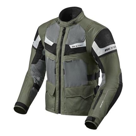 Giacca moto Rev'it CAYENNE PRO verde militare nero 1