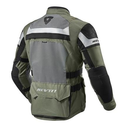Giacca moto Rev'it CAYENNE PRO verde militare nero 2